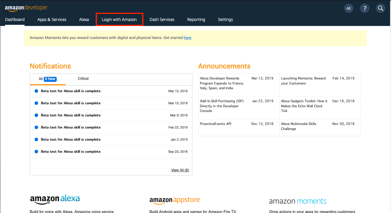Tutorial] Account Linking: Getting User's Amazon Email in Alexa Skill